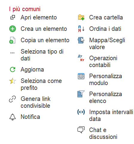 icone gestionale
